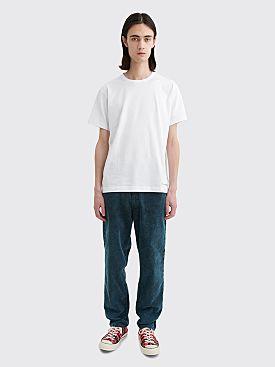 Cav Empt 1994 Bleached Dye Cord Pants Blue