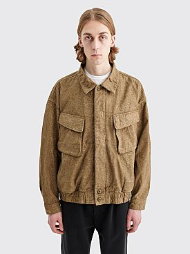 Cav Empt Noise Button Jacket Grey