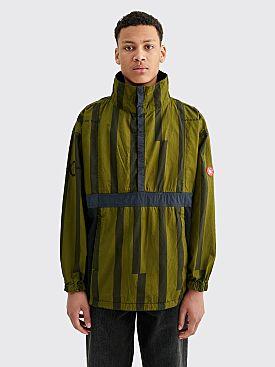 Cav Empt Misaligned Pullover Jacket Green