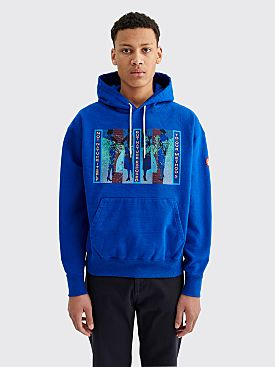 Cav Empt Not Nature Heavy Hoodie Blue