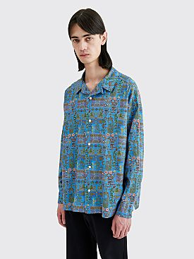 Cav Empt Module Big Shirt Blue