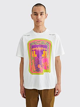 Cav Empt Chat / Oscillation T-shirt White