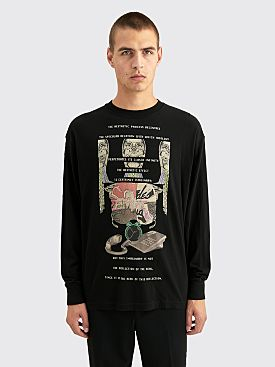 Cav Empt MD Decentre LS T-shirt Black