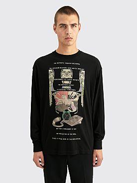 Cav Empt MD Decentre LS T-shirt Black