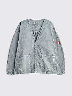 Cav Empt Overdye Unbalance Zip Jacket Grey