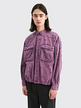 Cav Empt Overdye Null Jacket Purple