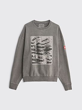 Cav Empt Overdye Conform Crew Neck Sweater Grey