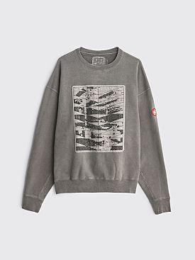 Cav Empt Overdye Conform Crew Neck Sweater Grey