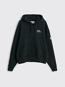 Cav Empt Closed System Heavy Hooded Sweatshirt Black