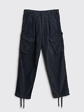 Cav Empt Overdye Cord Combat Pants Black