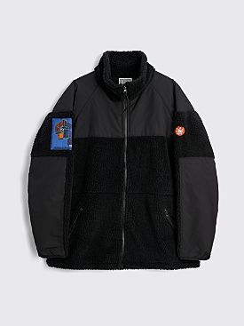 Cav Empt Boa Fleece Zip Jacket Black