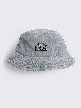 Cav Empt Overdye Cord Hat Grey