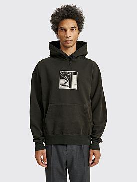 Cav Empt Force Application Heavy Hooded Sweatshirt Black