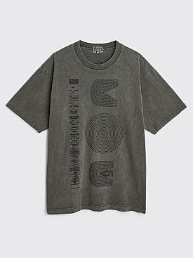 Cav Empt Overdye Concentric T-shirt Charcoal