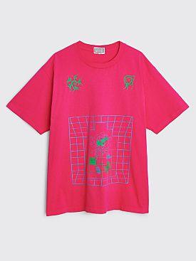 Cav Empt Overdye Fata T-shirt Magenta