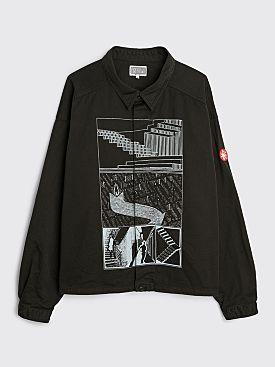 Cav Empt MD Traces Short Shirt Jacket Black