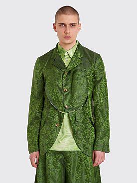 Comme des Garçons Homme Plus Jacquard Jacket Green