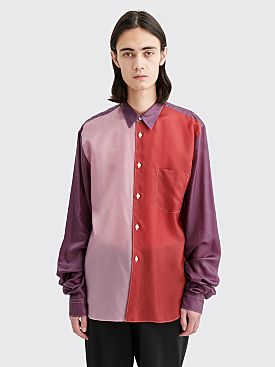 Comme des Garçons Homme Plus Extended Sleeves Shirt Red / Purple