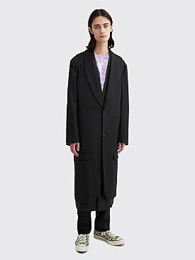 Comme des Garçons Homme Plus Layered Coat Black