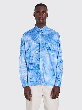 Comme des Garçons Homme Plus Shirt Bright Jersey Dyed Blue