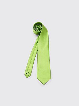 Comme des Garçons Homme Plus Silk Tie Green