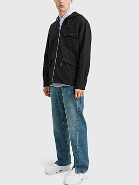 Comme des Garçons Homme Hooded Jacket Black