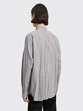 Comme des Garçons Homme Crinkle Shirt White / Black