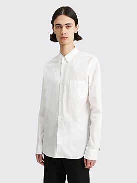 Comme des Garçons Homme Classic Shirt White