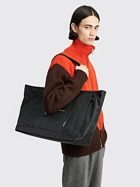 Comme des Garçons Homme Nylon Twill Carryall Bag Black