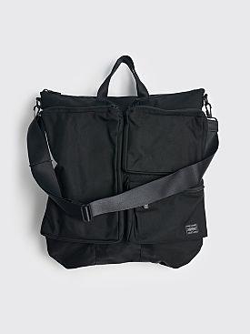 Comme des Garçons Homme x Porter Nylon Satchel Bag Black