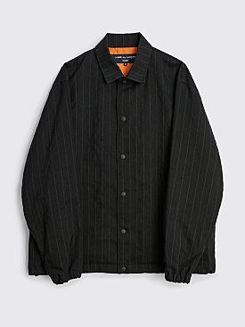 Comme des Garçons Homme Coach Jacket Stripe Black / Navy