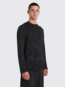 Comme des Garçons Homme Plus Sequin Knit Sweater Black