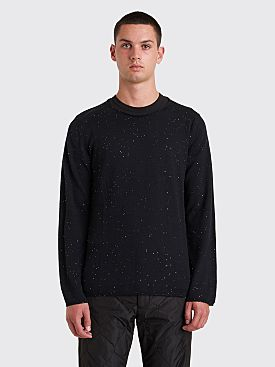 Comme des Garçons Homme Plus Small Sequin Knit Sweater Black