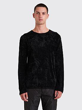 Comme des Garçons Homme Plus Chenille Sweater Black
