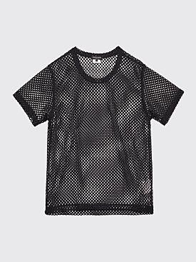 Comme des Garçons Homme Plus Mesh T-shirt Black