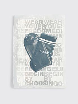 Comme des Garçons Homme Plus Logo Socks Black