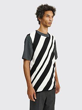 Comme des Garçons Homme Plus Striped Wool Vest