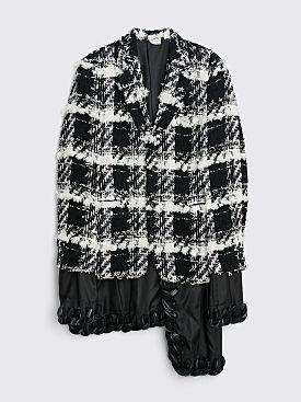 Comme des Garçons Homme Plus Tweed Jacket Black / White