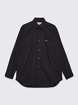 Comme des Garçons Play Small Heart Shirt Black
