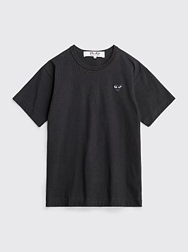 Comme des Garçons Play Small Heart T-Shirt Black