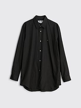 Comme des Garçons Play Mini Heart Shirt Black