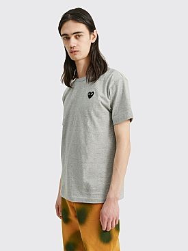 Comme des Garçons Play Small Heart T-Shirt Grey