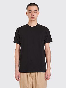 Comme des Garçons Shirt Neck Logo T-shirt Black