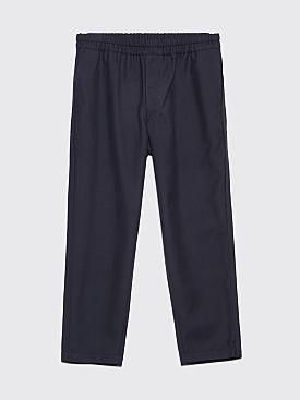 Comme des Garçons Shirt Gabardine Woven Pants Navy