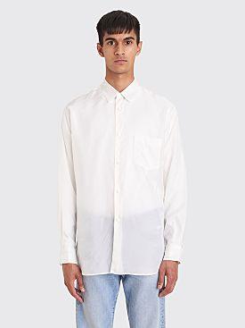 Comme des Garçons Shirt Forever Classic Cupro Shirt White