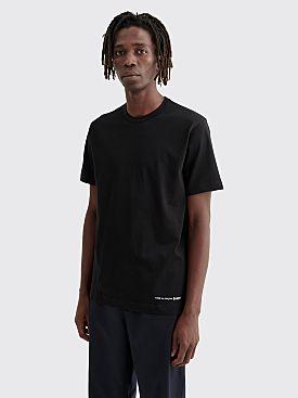 Comme des Garçons Shirt Logo T-shirt Black