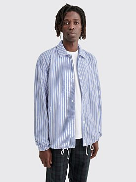 Comme des Garçons Shirt Coach Jacket Stripe Blue