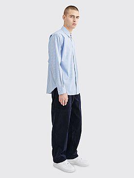 Comme des Garçons Shirt Corduroy Pants Dark Navy