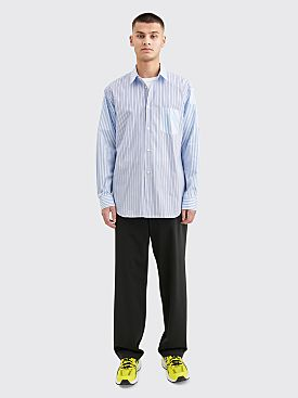 Comme des Garçons Shirt Forever Regular Fit Yarn Dyed Poplin Shirt Mixed Stripe
