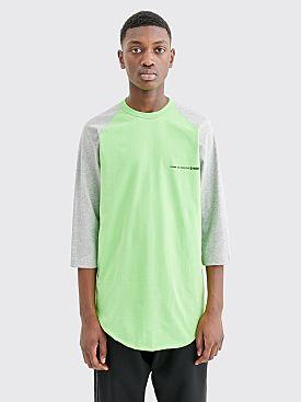 Comme des Garçons Shirt Chest Logo T-shirt Green / Grey